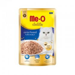 مي او طعام للقطط البالغه-تونا في الجيلي