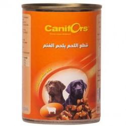 كانيفورس معلبات كلاب اللحم بلحم الغنم