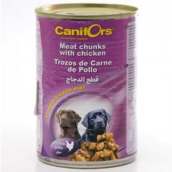 كانيفورس معلبات كلاب الللحم بالدجاج