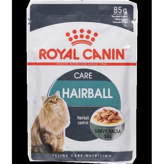 رويال كانين طعام رطب للقطط العناية بكرات الشعر