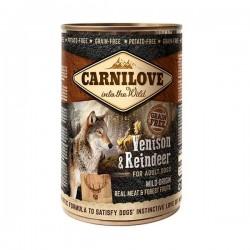 كارني لاف للكلاب بطعم لحم الغزال