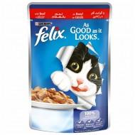 فليكس اكل قطط بطعم اللحم