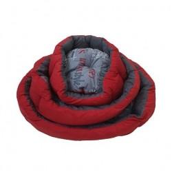 بيت سرير دائري احمر