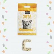 صويا رمل قطط بدون رائحه