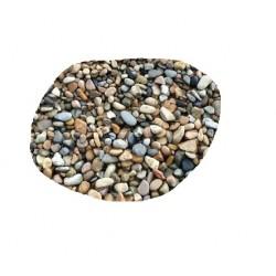 حجر لون غامق فرش لارضيه احواض السمك